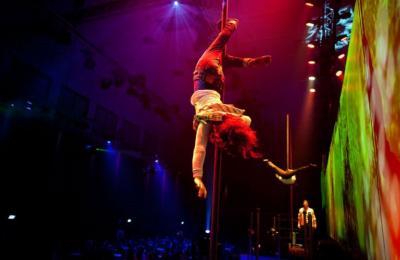 acrobatische act