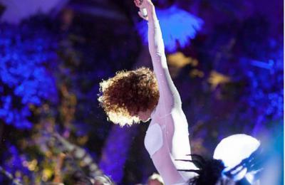 acrobatische luchtvoorstelling voor evenementen