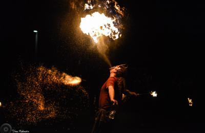 straatanimatie vuur