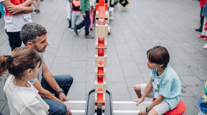 interactieve spelen straatanimatie